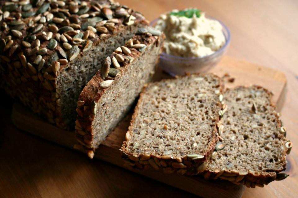 Recept na litý kváskový chléb z žitné mouky